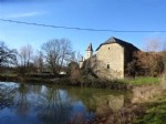 In a small hamlet near Bournazel, barn with CU of habitable 192m² on a plot of 605m²