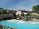 Family home and gites with pool
