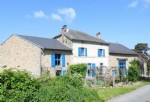 Spacious Renovated House with land and orchard close to Gueret