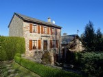For sale, just 20 km from Millau, in this beautiful medieval village