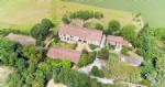 Stone property with outbuilding for events, holiday home, pool, great views, 6 acres