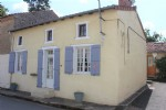 Renovated 2-bed stone house with gite.