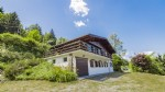 5 bed chalet, Mt Blanc views, beside the piste
