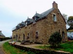 Plessala - substantial stone longere with separate studio and swimming pool and