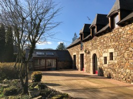 House for sale in lamballe, ideal for a family, character features, landscaped g
