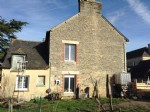 House for sale le quiou: semi-detached stone house to renovate with outbuildings