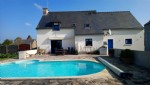 House for sale saint-denoual- modern 4 bedroom house with swimming pool