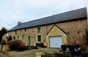 Merdrignac - 4 bed house with development potential - quiet location