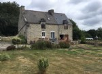 5mn plélan-le-petit:detached stone 3 bedroom house