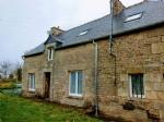 Trebedan, brittany - stone house for sale undergoing renovation - hamlet locatio