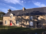 Trebedan, brittany - stone house for sale undergoing renovation - hamlet locatio