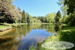 Atypical Domaine 11 hectares include a trout fishing lake open to the public, a forest with