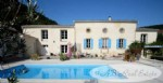 A renovated lovely farmhouse, 343m², 5 bedrooms, 3 bathrooms, charming pool with terrace and