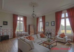Les Forges (79) - Superb ground floor apartment in a beautiful château with shared pool