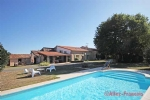 Coulon (79) - Immaculate stone property with a pool in the Marais Poitevin