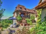 Beaulieu-sur-Dordogne (Corrèze) - Great farmhouse (5 beds / 4 baths) in elevated position
