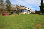 Le Bourdeix (Dordogne) - Three bedroom house with heated swimming pool in a tranquil