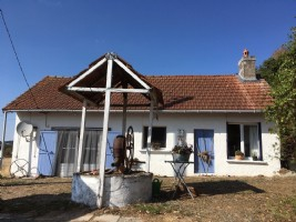 Lovely cottage with panoramic for sale view in Burgundy