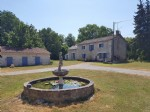 Near Saint Savin, Vienne 86: farmhouse with pool on 1 ha