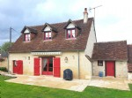 Near Le Blanc, Indre 36: rural house in excellent condition