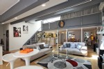 Duplex loft apartment in Cannes on the Cote d'Azur