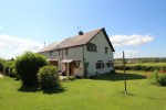 Property with a barn and a large garden, in a hamlet, away from neighbours and with a view !