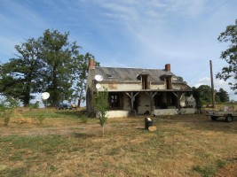 Detached farmhouse with stunning views and no neighbours