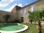 *Renovated traditional stone house with garden, pool and garage.