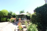 *Character stone property in Cabrieres with garden and many possibilities.