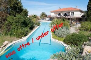 *6 bed villa, great pool, gardens, close to village centre yet quiet, fabulous views.