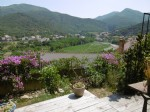 Large property in the heart of a medieval village with wonderful views