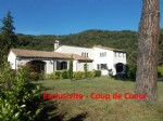 *Beautiful country detached property, wonderful level garden ( more than 5000m²)