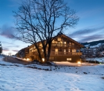 Two sister Apartments nestled in the same Chalet split vertically in Demi-Quartier, Megeve