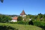 House in the centre of Riberac with views