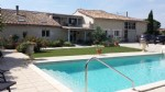 Beautiful character house with heated pool
