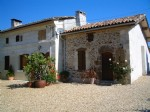 House with gite and heated pool, a bargain character house with income