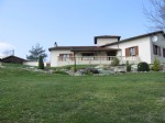Detached villa with gite and pool, lovely views