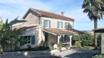 Detached character house and gite with barns and views