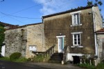 Small Village House To Refresh With Garden and Cellar. Close To Mansle