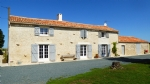 Superb House of 175m2 with exposed stonework, South Vendee