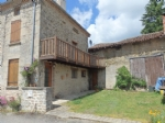 House with Barn near Roussac in the Haute Vienne