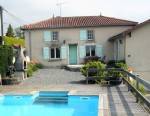 Vendee – Detached Home with Pool & Studio Gite