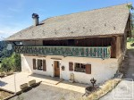 A Savoyard 2 bedroom house with mazot (decorative shed) and barn for renovation