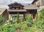 A 3 bedroom, Savoyard house with garden and mazot.