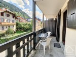 An apartment in the heart of the attractive village of Saint Gervais.