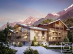 Stunning new development in the heart of Chamonix valley's village resort.