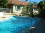 Pleasant single storey villa with 4 bedrooms on 1065 m² with pool, in perfect condition !