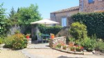 Charming house with independent gite, terrace, courtyard and views !