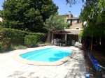 Pretty renovated stone house with 4 bedrooms, garden, terraces, pool and views !