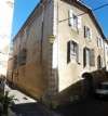 Large stone village house divided into 2 lightful apartments with a garage !